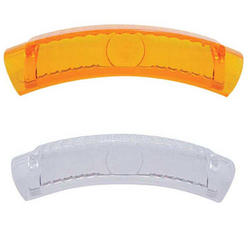 Headlight Turn Signal Lens for Replacement in Headlight Bezels