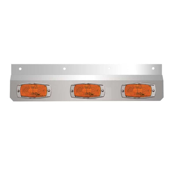Stainless Steel Lighted Top Plate W/ Cat Eye Lights