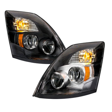 Volvo VN / VNL 2004 Through 2017 High Powered LED Headlights