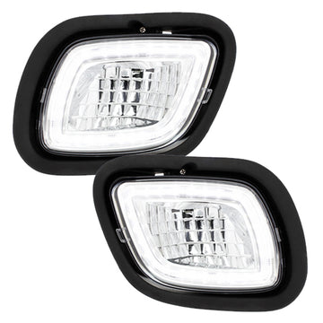 "Freightliner Cascadia 2008 Through 2017 ""Competition Series"" LED Fog  Light With Halo Position Light"