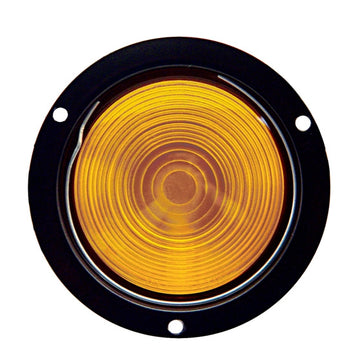 4 Inch Deep Dish Turn Signal Light With Amber Lens