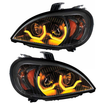 96+ Freightliner Columbia Blackout Projection Headlight