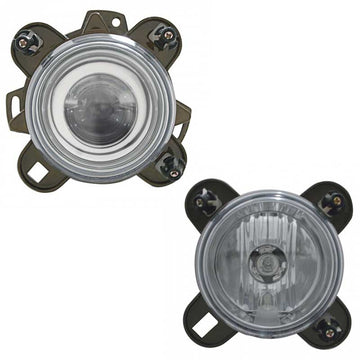 90mm Projector Headlights in High or Low Beam