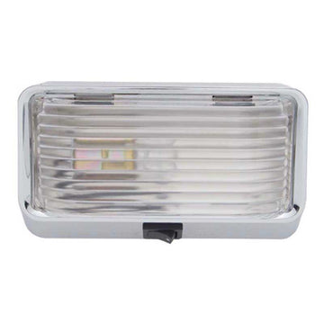 Rectangular Clear Interior Dome Lamp