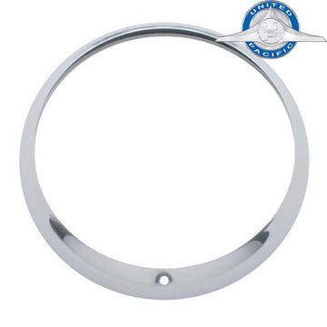 Stainless Steel or Chrome Guide Headlight Bezel