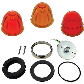 Glass Lens Conversion Kit for GRAKON 1000 Brand Cab Light