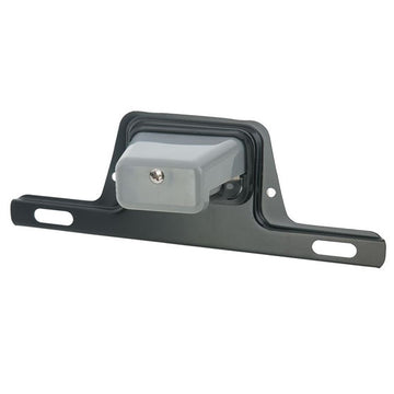 License Light With Black Bracket