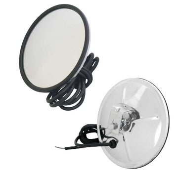 "7"" Round Convex Heated Blind Spot Mirror"