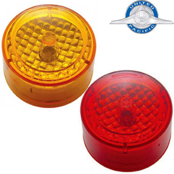 2 Inch Flat Crystal Clearance / Marker Light