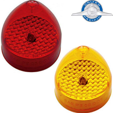 2 1/2 Inch Beehive Crystal Clearance / Marker Light