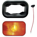 Rectangular Turn Signal Light Kit With Amber Lens