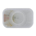 Rectangular Back Up Light With Clear Lens