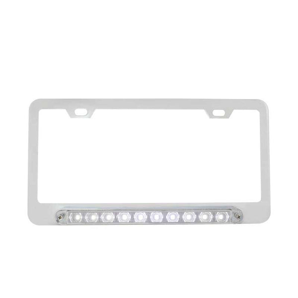Chrome Deluxe LED License Plate Frame