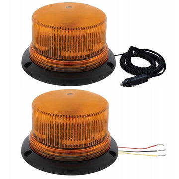 3 High Power LED Beacon Light in Magnet or Permanent Mount