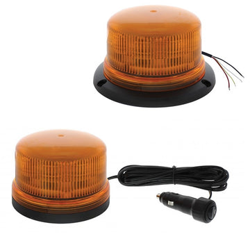 8 LED High Powered Low Profile Beacon Light