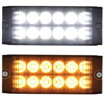 12 LED High Power Low Profile Warning Lighthead