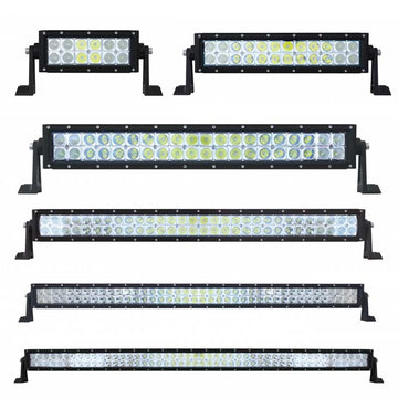 3W High Power CREE LED Double Row Light Bar in 6 Lengths