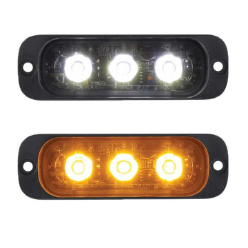 3 High Power LED Super Thin Warning Light