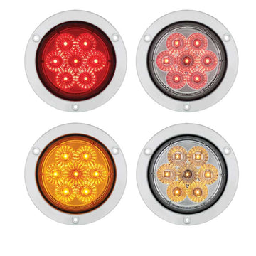 7 LED 4 Inch S/T/T and P/T/C Light