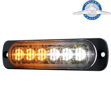 6 LED Dual Color Directional Warning Light