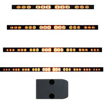 High Power LED Directional / Warning Light Bars in 4 Options
