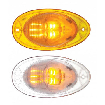 7 Amber LED Freightliner Turn Signal Light with OEM Plug