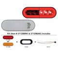 "22 LED Oval ""GLO"" Turn Signal Light Kit"
