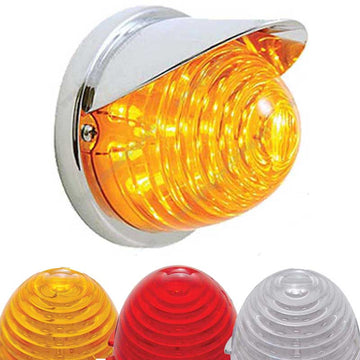 17 LED Flush Mount Beehive Light Visor 4 Options Single Function