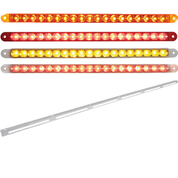 79 Inch Stainless Light Bracket with Six 12 Inch LED Light Bars