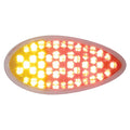 51 LED Duo Auxiliary And Utility Light With Red And Amber LEDs