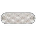 10 LED Oval Stop, Turn And Tail Light