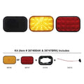 15 LED Rectangular Turn Signal Light Kits