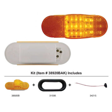 18 LED Mid-Trailer Turn Signal Light Kit