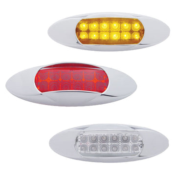 "12 LED ""Renegade"" Reflector Clearance Marker"
