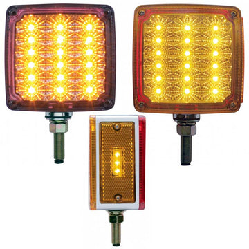 39 LED Reflector Double Face Single Stud Turn Signal