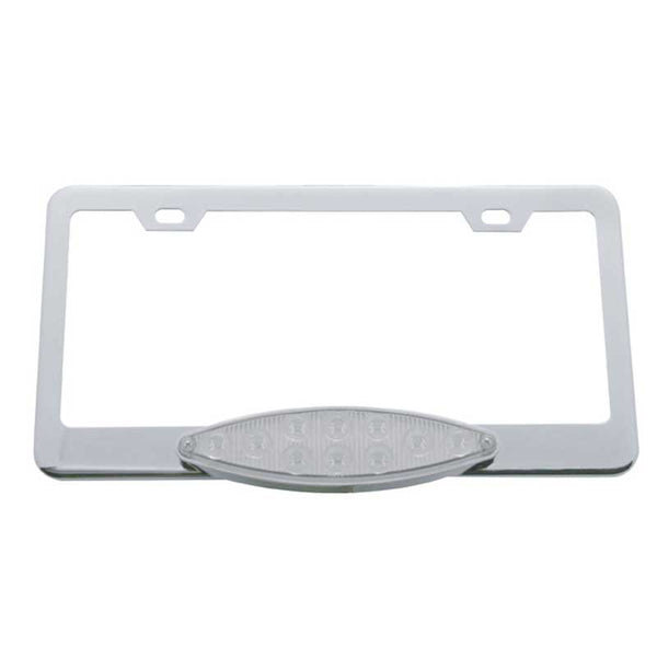 10 LED Cats Eye License Frame