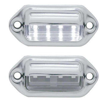 4 LED License Light