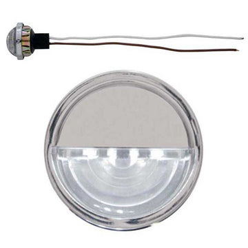 4 LED Round License/Auxiliary Light