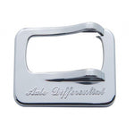 Peterbilt Chrome Rocker Switch Cover With Engrave