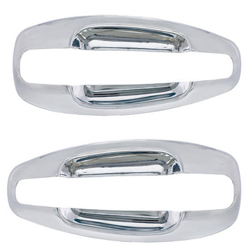 Kenworth T680 And T880 2013 And Newer Chrome Exterior Door Handle Cover