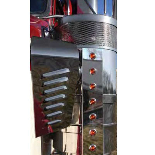 Kenworth 15 Inch Donaldson Front and Rear Air Cleaner Brackets