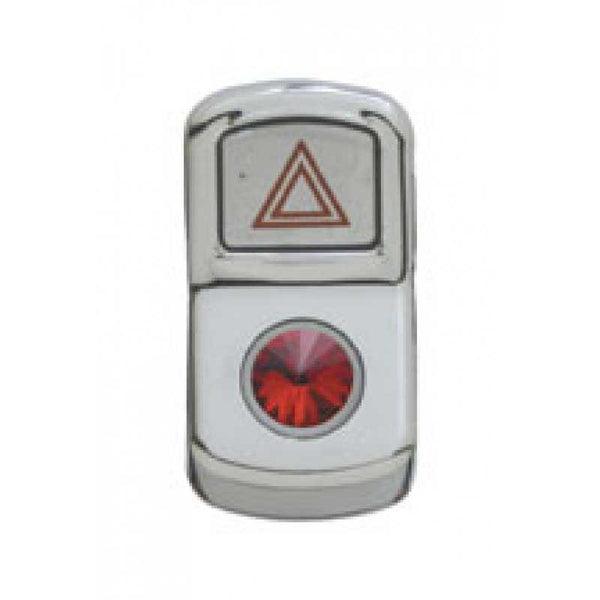 Hazard Light Rocker Switch Cover with Diamond