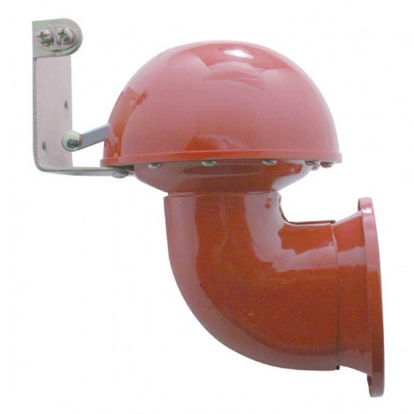 Red Electric Bull Horn with Control Lever