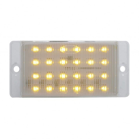 24 LED Amber Rectangular Horn Light