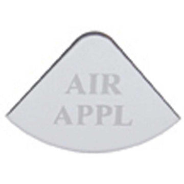 Freightliner Stainless Air Apply Gauge Plate
