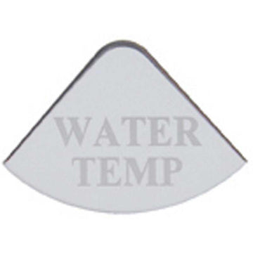 Freightliner Stainless Water Temperature Gauge Emblem