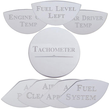 Kenworth Engraved Gauge Plates