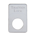 Kenworth Engraved Traction Lock Indicator Light Plate