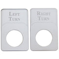 Kenworth Engraved Turn Signal Indicator Light Plates