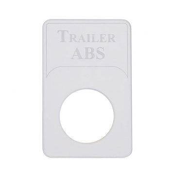 Kenworth Engraved Trailer ABS Indicator Light Plate